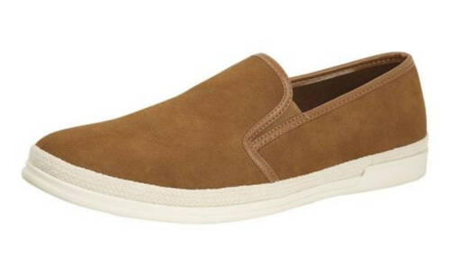 Mens Micro Suede Boat Yachting Deck Summer Shoes Slip On Pumps 6 7 8 9 10 11