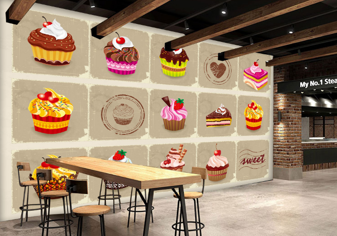 3D Sahnetorte 73 Tapete Wandgemälde Tapete Tapeten Tapeten Tapeten Bild Familie DE | Haltbarer Service  | Online Kaufen  | Ausgezeichnete Leistung  513342