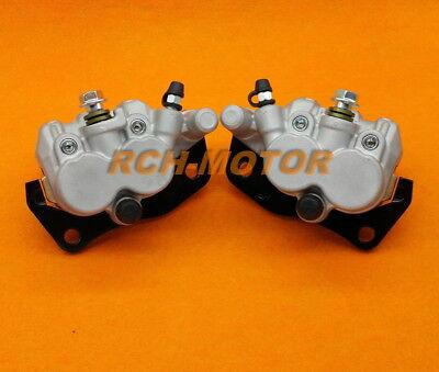 Front Brake Caliper Pad For YAMAHA UTV RHINO 450 2006-2009 RHINO 660 2004-2007