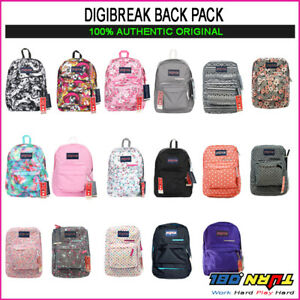 JANSPORT-DIGIBREAK-DIGITAL-SUPERBREAK-Laptop-Student-Backpack-book-bag-Tablet
