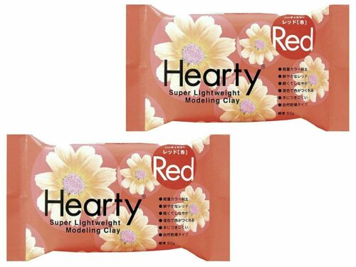 PADICO Hearty Clay Color Super Light weight Modeling Clay 50g 2 set Select Color