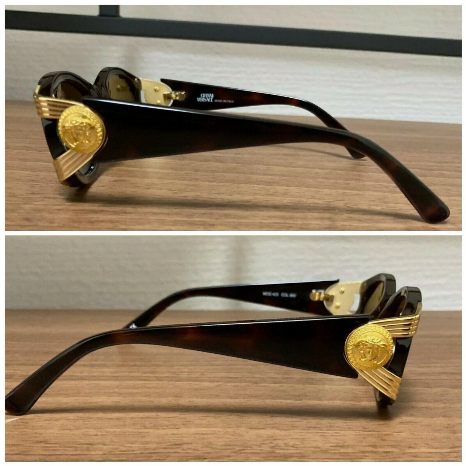 Gianni Versace Vintage Sunglasses Mod 423 - image 2