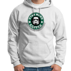 Star Wars Coffee May The Froth Be With You Funny Cool Jumper Hoodie S-XL Sizes