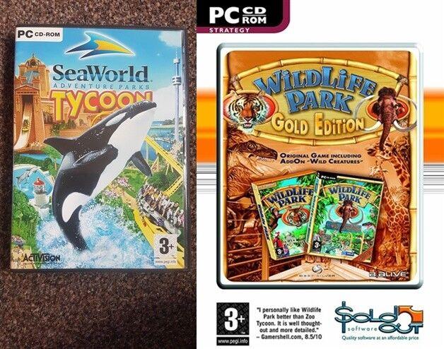 Sea World Tycoon & Wild Life Park Gold