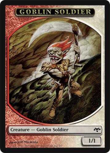 4 Goblin Soldier Token ~ Lightly Played Eventide 4x x4 Playset UltimateMTG Magic