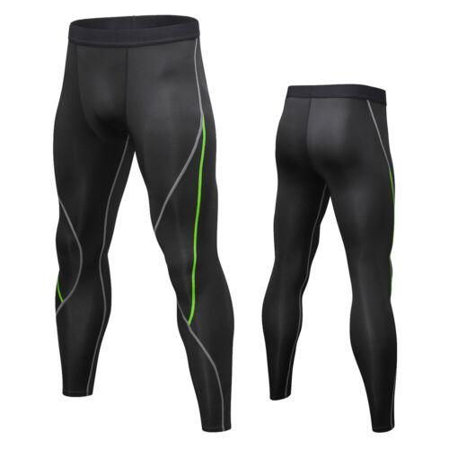 Men/'s Compression Pants Baselayer Cool Dry Running Sport Leggings Active Bottom