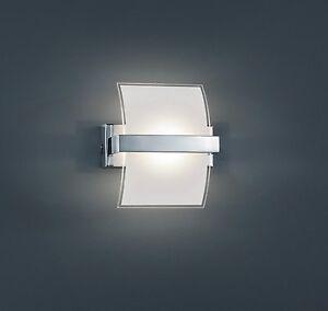 Lampara-Pared-Aplique-Trio-Led-Cromo-Y-Cristal-Interior-Blanco-Exterior-Claro