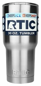 30OZ-RTIC-Tumbler-Cup-Thermal-Hot-Cold-Drinks-Beverages-Container-Travel-Mug