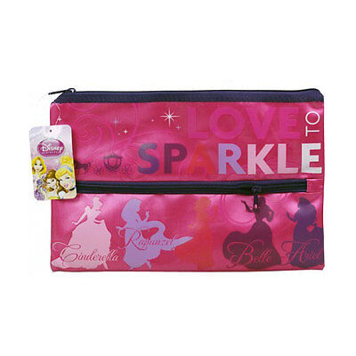 Brand New Disney Fairies Girls Personalised Name PVC Pencil Case 13 x 22.5cm