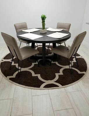 Brown Contemporary Dining Room Bedroom