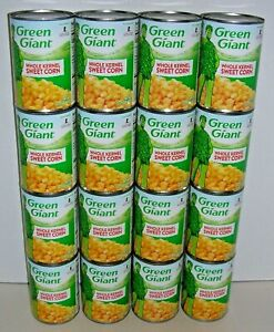 Lot-of-16-Cans-GREEN-GIANT-Whole-Kernel-Sweet-Corn-Net-Wt-15-25-oz-432g-ea
