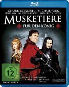 MUSKETIERE-FUR-DEN-KONIG-Gerard-Depardieu-Nastassja-Kinski-Blu-ray-Disc-NEU
