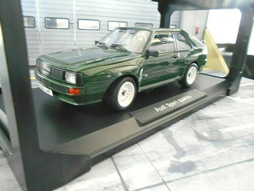 """AUDI Sport Quattro /"""" der Kurze /"""" green grün Gr.B 1985 Norev 188317  NEU 1:18"""