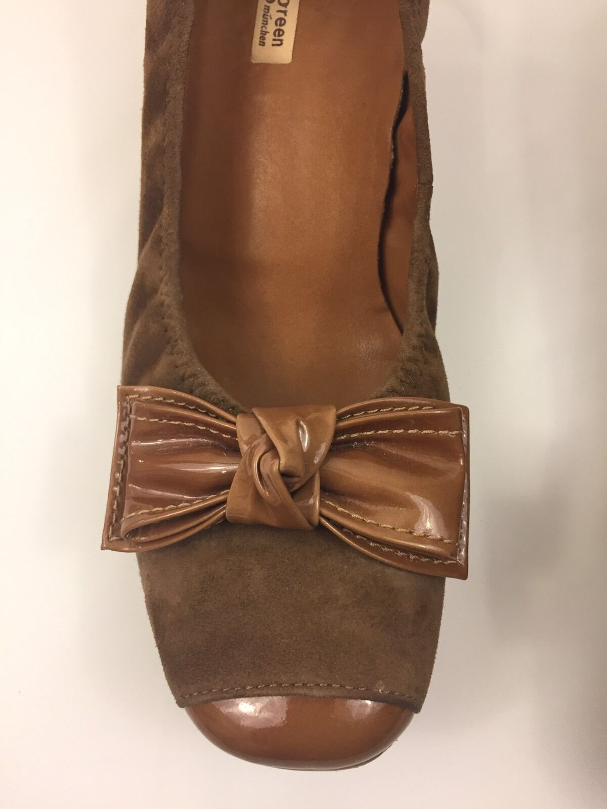 Paul Green Woman's Brown Suede Leather Wedge Wedge Wedge Heel shoes Size 6.5 M RP 289 946a15