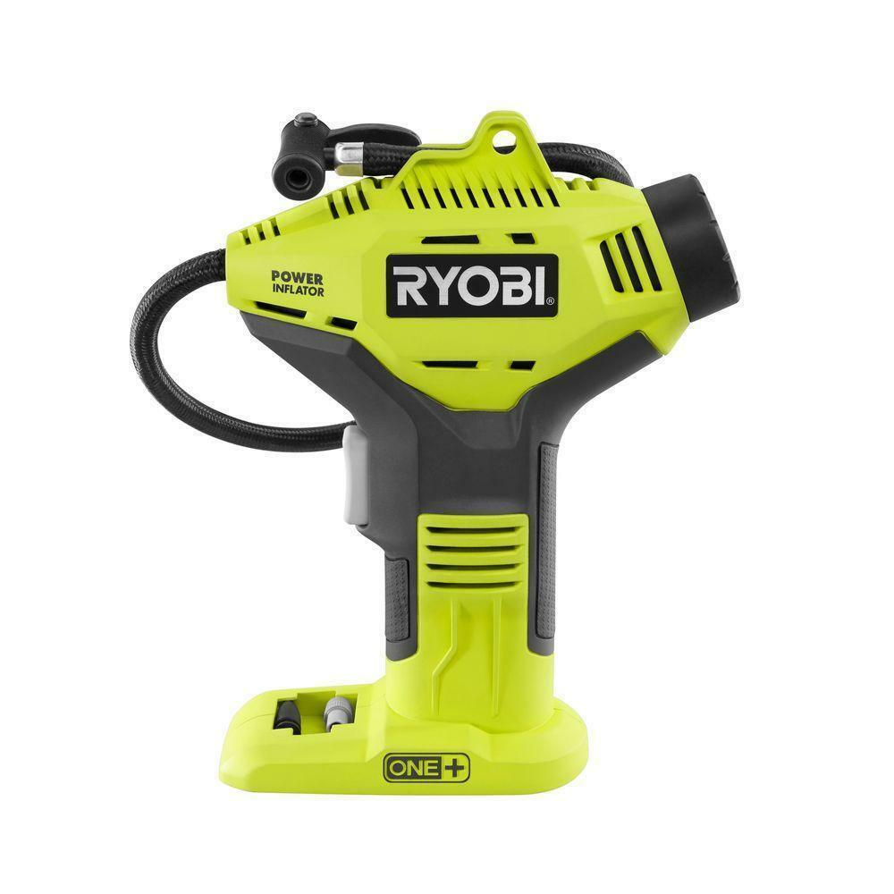 Ryobi 18V ONE+ Portable Air Compressor Cordless Tire Inflator Pump Power Tool