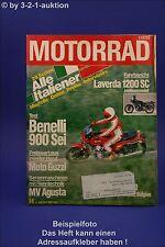 Motorrad 14/79 Benelli 900 Laverda 1200 SC Moto Guzzi