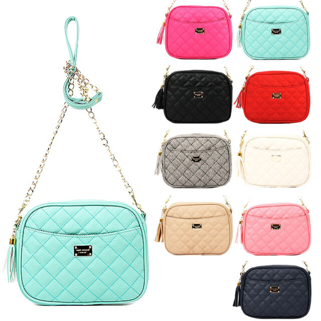 Fashion Women Shoulder Bag Faux Leather Purse Satchel Messenger Hobo Bag Handbag