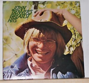 John-Denver-Greatest-Hits-1975-LP-Record-Album-Vinyl-Excellent