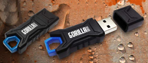 16GB Ruggedized USB Flash Drive Gorilla Drive Waterproof Durable Plug-And-Play