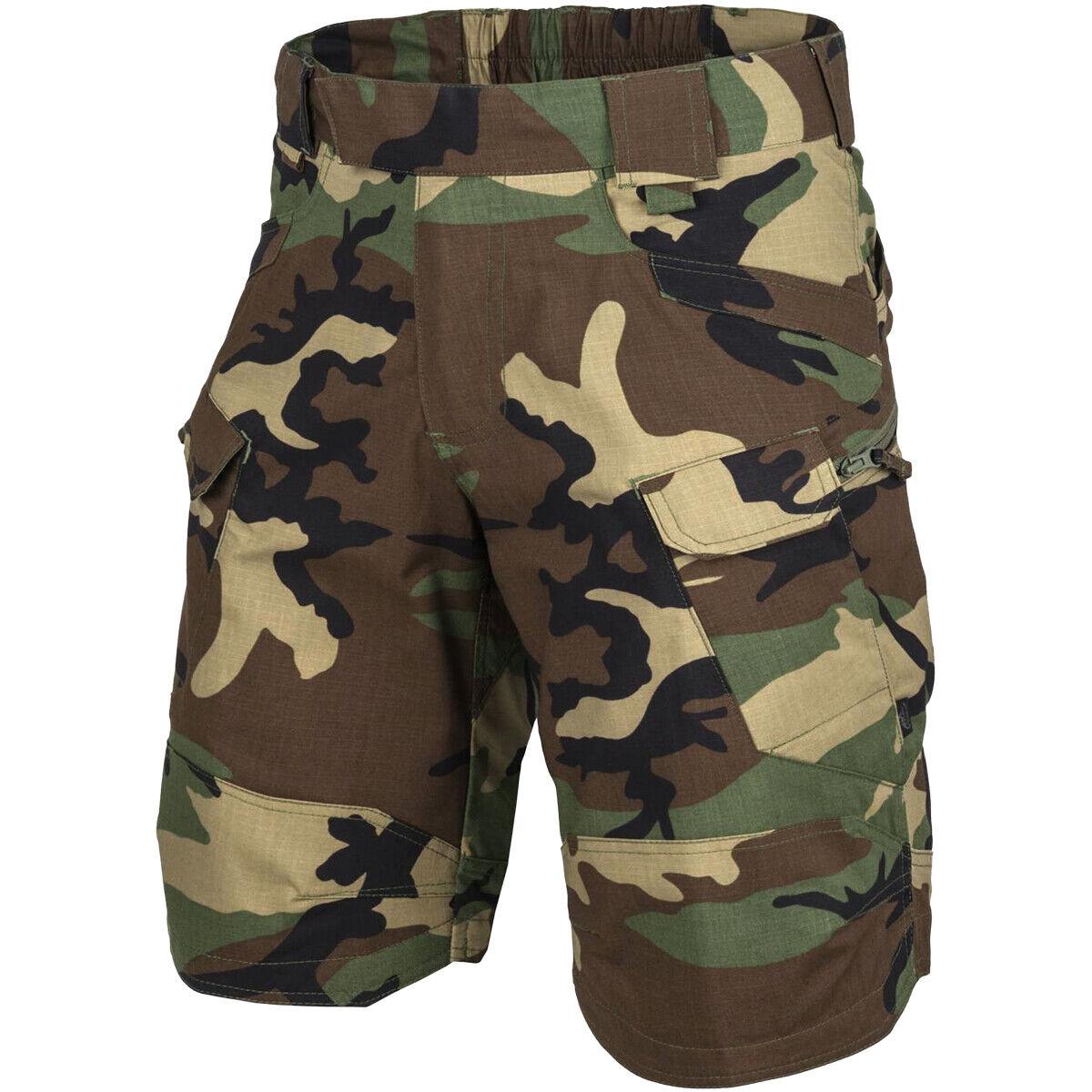 Coyote Braun Polycotton Ripstop Helikon-Tex Urban Tactical Shorts/® 11 S