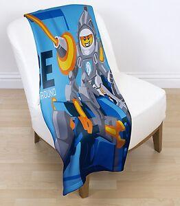08b7f0d4d66 EXTRA LARGE - New Lego Knights  Power  Fleece Blanket Kids Boys Soft ...