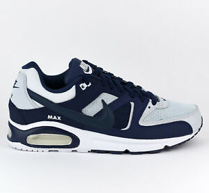 Details about Nike Air Max Command Men Lifestyle Sneakers Schoenen New Platinum Navy 629993 045