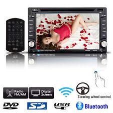 6.2'' Double 2DIN In Dash GPS Navi Car DVD Player Bluetooth Auto Stereo Radio TV
