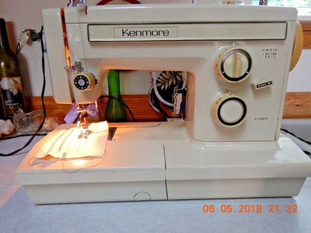 Kenmore Free Arm Sewing Machine All Metal 4040 With Fascinating Kenmore Sewing Machine Accessories