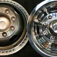 "1986-1999 Dodge 3500 Dually rear wheel simulator 16"" hubcap 8 lug stainless new"