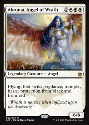 Akroma Angel of Wrath x1 Magic the Gathering 1x Masters 25 mtg card
