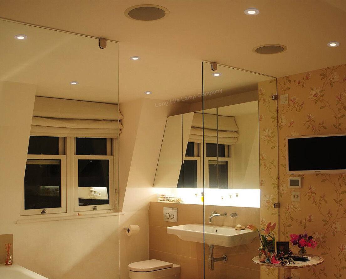 Fire Rated LED Downlight Recessed Ceiling Spotlights Kitchen Lights ...