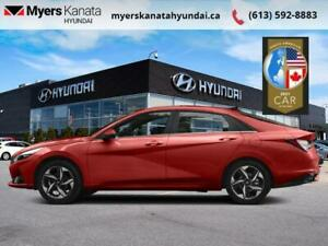 2021 Hyundai Elantra Preferred w/Sun & Tech Package IVT