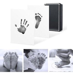 Ink Wipe Baby Kit Hand Foot Print Keepsake Baby Kids Footprint Handprint Hot NEW