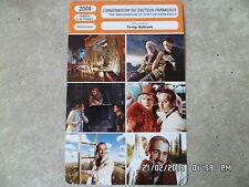 CARTE FICHE CINEMA 2009 L'IMAGINARIUM DU DOCTEUR PARNASSUS Johnny Depp