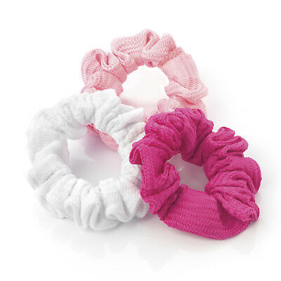 PACK OF 3 Hair Bobbles Hair Accessories Pom Pom Style Fashion Party Glam   1072