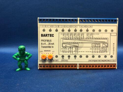 Bartec 07-7331-23040000 PROFIBUS Interface Transmitter 8x4 to 20mA