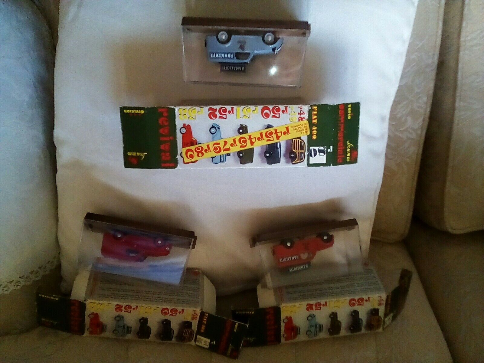 Brumm models X 3 Mint Boxed.