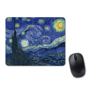 Vintage-Van-Gogh-Starry-Night-Art-Mouse-Pad-Computer-Tablet-PC-Laptop-Mice-Mat