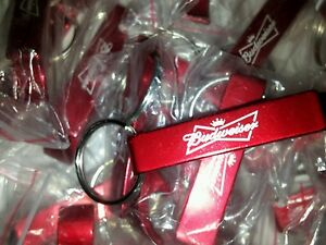 BUDWEISER-Alcohol-advertisement-Keychain-Bottle-Openers