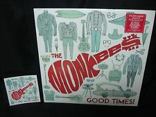 the monkees - good times! - sealed 180 gram vinyl LP record - with promo sticker