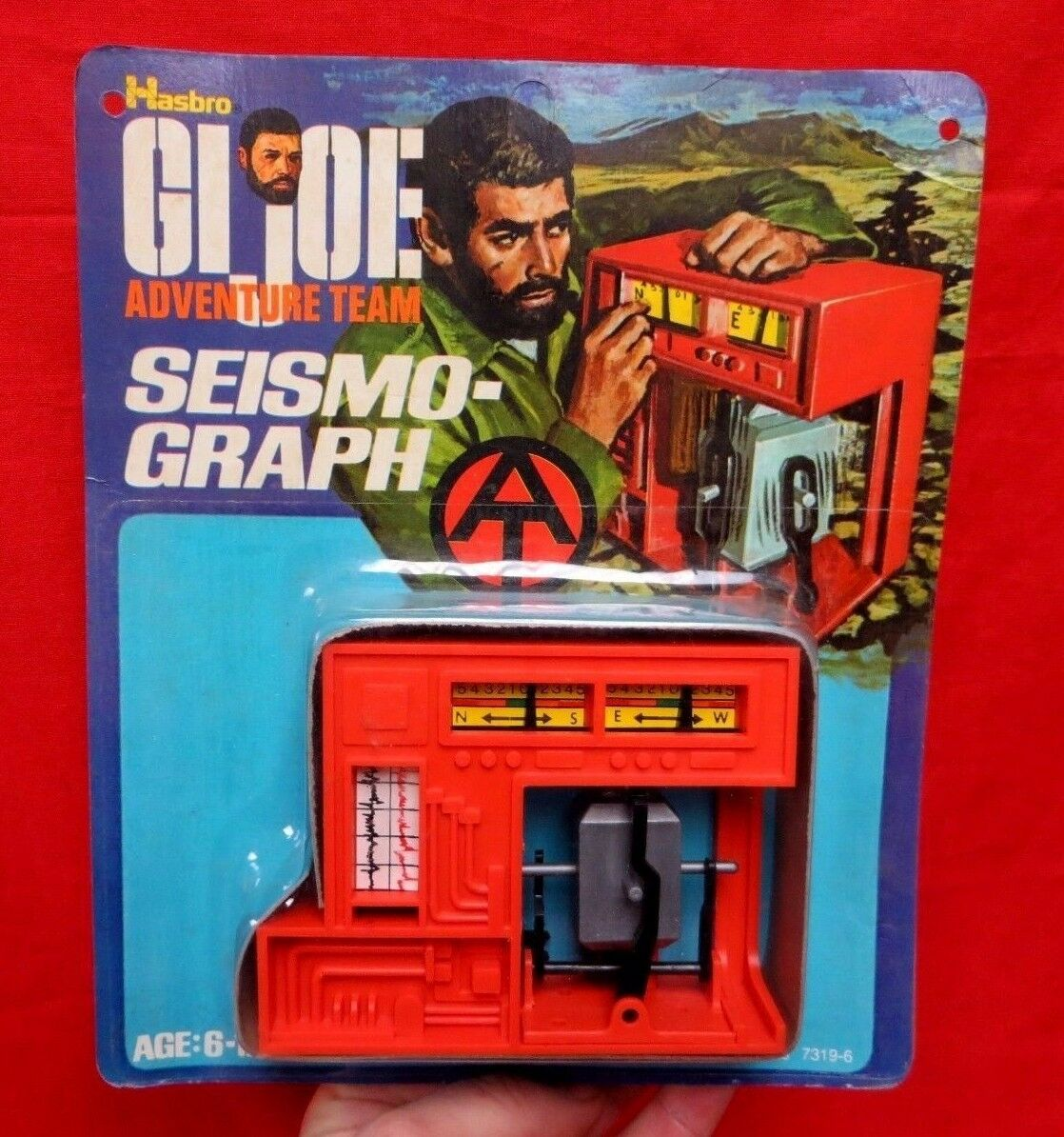 1964 VINTAGE GI JOE JOEZETA : : : 1973 ADVENTURE TEAM SEISMOPGRAPH MOC   7319-6 c1bb58