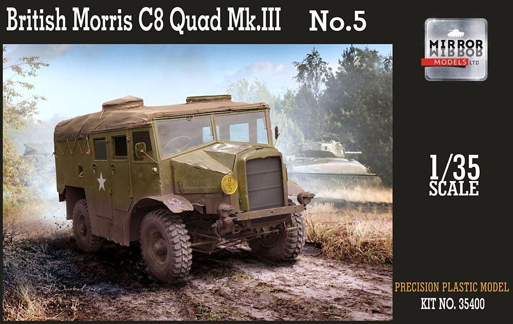 Mirror Models 1 35 British Morris C8 Quad Mk.III No.5