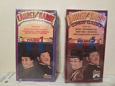 LAUREL AND HARDY Comedy Classics Vols. 1 & 5 (2 Videos, 1 SEALED) The Music Box