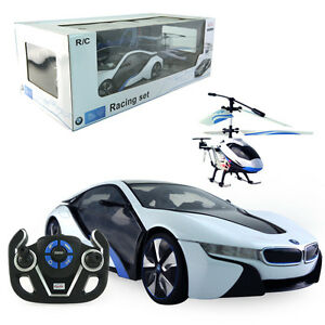 Licensed 1 14 Bmw I8 Rc Car 4ch Electric Radio Control Helicopter
