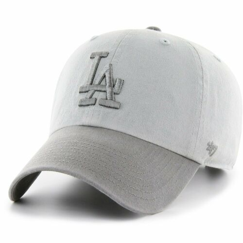 CLEAN UP Los Angeles Dodgers grau 47 Brand Relaxed Fit Cap