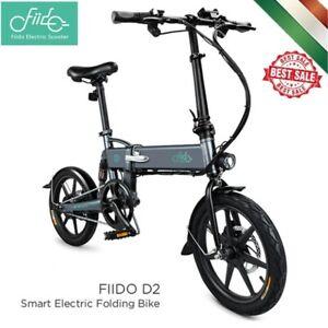 FIIDO-D2-Bicicletta-Elettrica-pieghevole-16-pollici-E-Bike-25KM-H-250W-36V-NERO