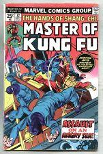 Master of Kung Fu #32-1975 vg Sal Buscema Gil Kane