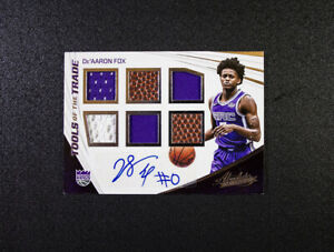 Absolute-De-039-Aaron-Fox-Tools-of-the-Trade-71-75-Autograph-Relic-2017-18-Kings