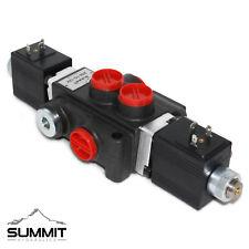 Hydraulic Monoblock Directional Solenoid Control Valve 1 Spool 13 Gpm 12v Dc