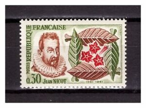 s24793-FRANCE-1961-MNH-Tobacco-1v